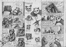 Kung Fu Panda Comic Cp. 1 page 5 and 6 by NeoMakusha
