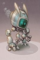 Robot Fighter by Kravenous