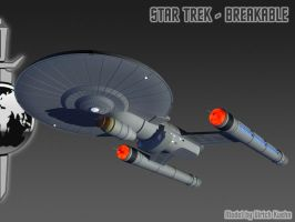 STAR TREK - BREAKABLE: ISS PHOENIX-PosLights by ulimann644