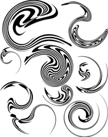 distortion vector pack by ragingcephalopod