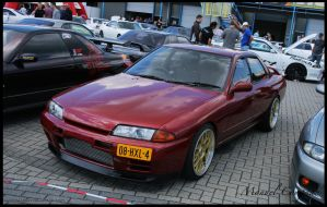 1989 Nissan Skyline R32 by compaan-art