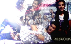 Wall: Minwook by NandeNoi