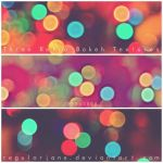 Retro Bokeh Textures by regularjane
