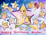 Winx Club: Happy Birthday Stella! by WinxLovely