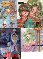 Clamp Saint Seiya doujinshis by nekomimipii