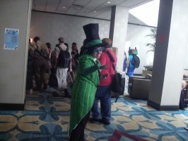 Shadocon 2012 ~ Greed-ler/Swag-ler by DespicablyAwesome