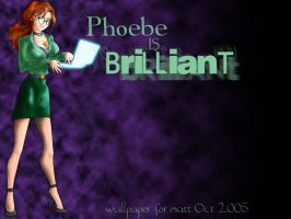Phoebe is Brilliant by ChocoboGoddess