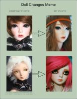 Doll Change meme by PlagueBearerBJD