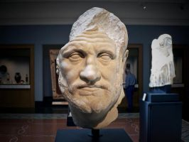 Roman Bust by Chris24Blandino