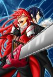 Gift fo Allichan: Grell and Sebastian by grivitt