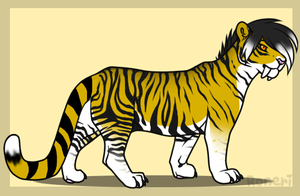 Saber Tiger Adopt .::CLOSED::. by HollyleafAdoptables