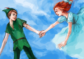 Peter x Wendy: To Neverland by elalendi