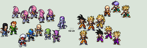 LEGENDARY SUPER WARRIORS: Revamp Project by ThKaspar