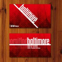 Baltimore Business Card by NF0urnO