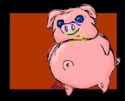 Fatty McPigfat by Spidoodle