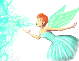 Minty  Breath by LizleMouton