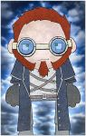blue coat steampunk dude by twistedandgifted