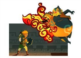 Link vs Jalhalla by Laeez21