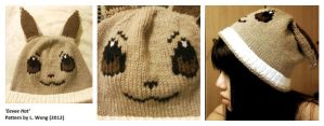Eevee hat by Stitch-Happy