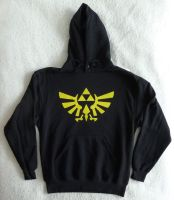 Zelda Triforce Hooodie by nad2dare
