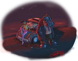 HIP N MIKI FROM ELEPHANTMEN by galvo
