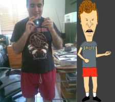 Butthead Cosplay by LenMomono