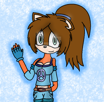 AT:  Taylor the Ice Wolf by SonicUS1000