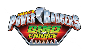Power Rangers DINO CHARGE Logo by XMarcoXfansubs
