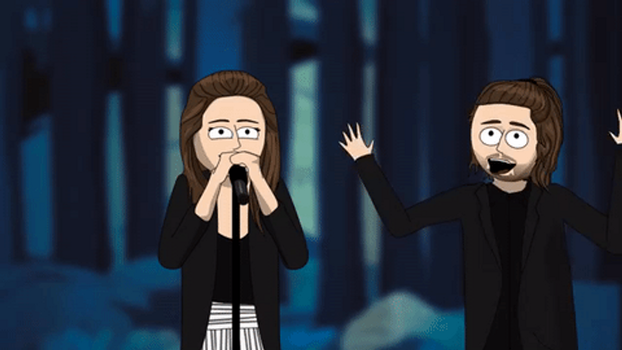 Salvador Sobral FreakOut (gif) by BecoDoceBeco