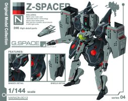 Series 04: Z-Spacer by Nidaram