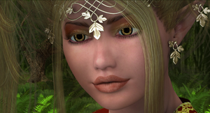 Detail of Belle of the Woods by AetherDreams