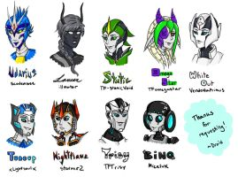 Requests Batch 4 by a-paranoid-android