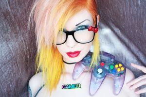 Gamer 4 by LadyStarDustxx