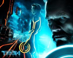 Tron: Legacy. Clu and Kevin by StalkerAE