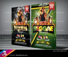 Reggae Party Flyer Template by AnotherBcreation