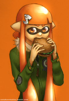 Burger Queen by NatahanStudios