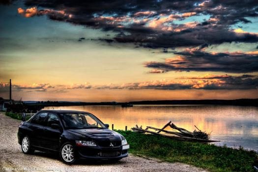 EVO VIII - At sunset river HDR by HDRenesys