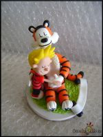 Calvin and Hobbes classic by Oracle-of-Moon