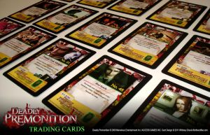Deadly Premonition Trading Cards - Backs by whitneyc