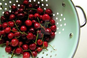 Bowl of Cherries by lisaclarkedotnet