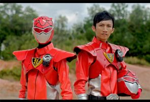 Red Busters - Tokumei Sentai Gobuster by maysatria