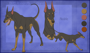 STS Dog - Noble by ShockTherapyStables