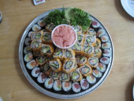 Sushi Platter by lilxerica