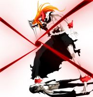 Hollow Ichigo pwnage by benderZz
