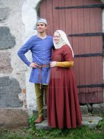 Late 14th century Couple by PeculiarMademoisell
