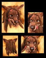 Frektane Red Wolf by KandorinCreations