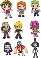 One Piece Dolls by KessieLou