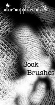 Sock Brushes by star-sapphire-stock