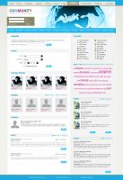Community template. by: Siostr by WebMagic