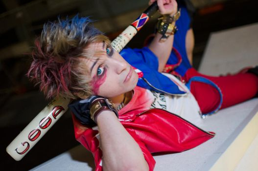 Harley Quinn - Male Version - Charlie Quinzel by AlexanDrake89